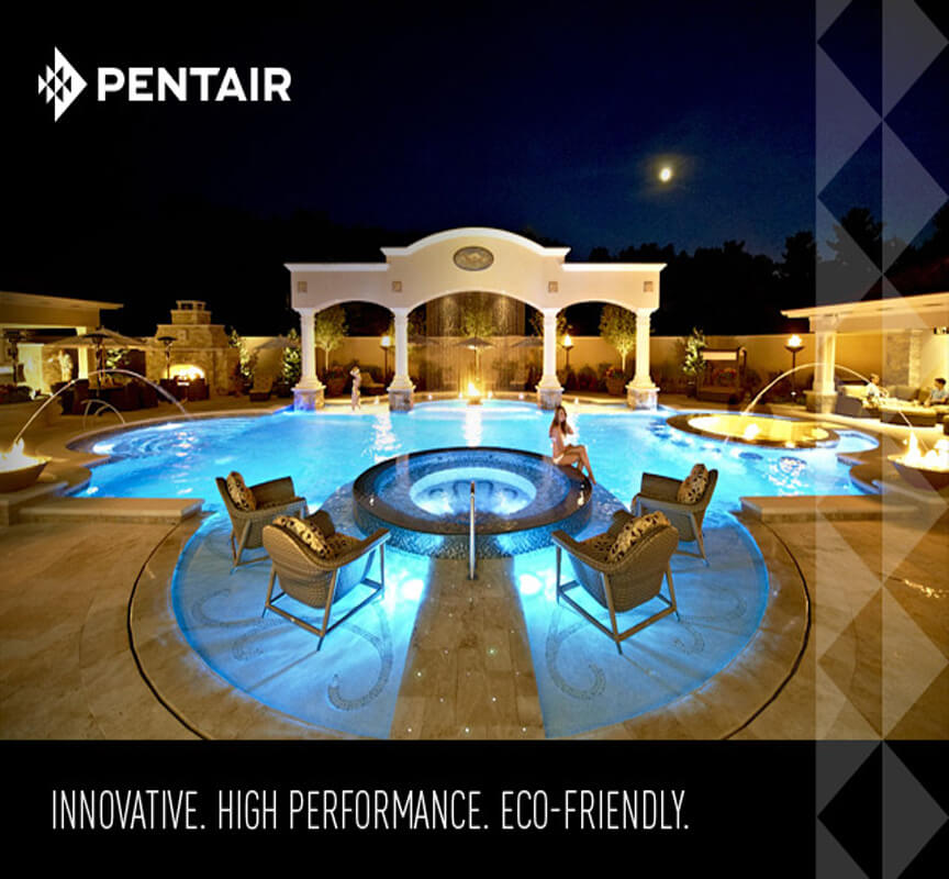 Pentair LED Pool Lights Millennium Custom Pools