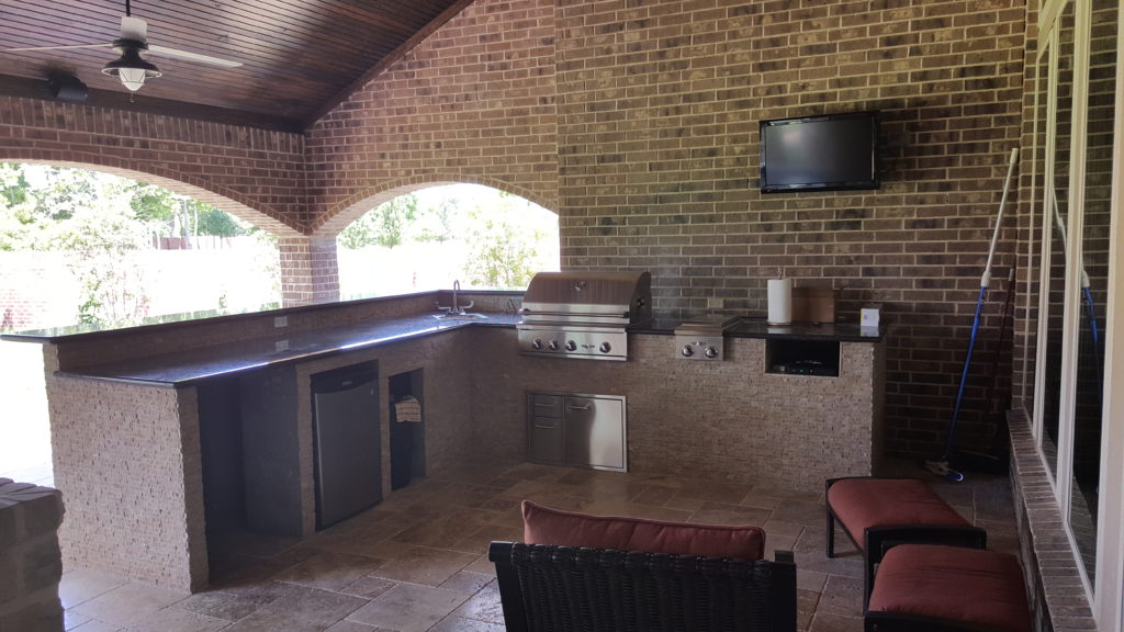 Houston outdoor kitchens summer kitchens millennium Outdoor kitchen cost estimator